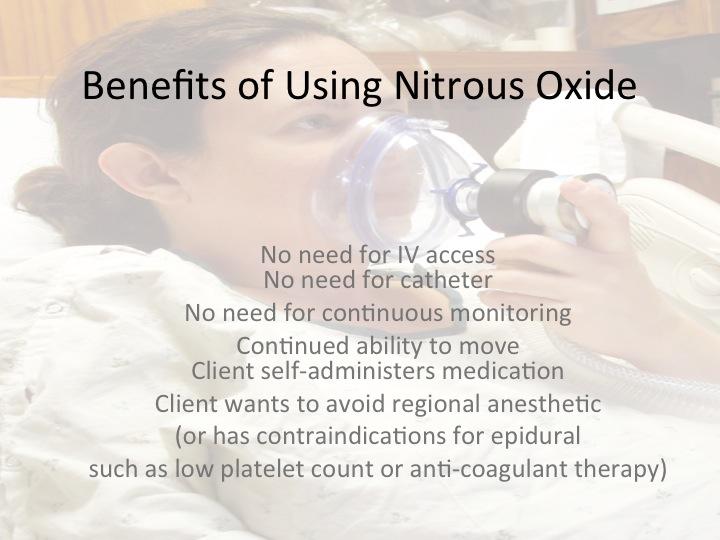 benefits, nitrous, oxide, Boise, St. Luke's, St. Alphonsus
